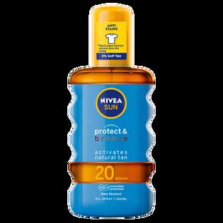 Nivea_Sun_spray aktywujący opaleniznę SPF 20, 200 ml