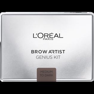 L'Oréal Paris_Genius Kit Medium to Dark_paleta do stylizacji brwi medium to dark 02, 3,5 g_1
