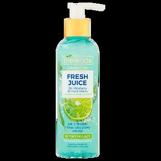 Bielenda_Juicy_żel micelarny do mycia twarzy z bioaktywną wodą cytrusową detoksykujący, 200 ml