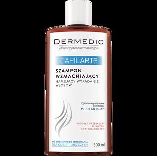 Dermedic_Capilarte_szampon wzmacniający, hamujący wypadanie włosów, 300 ml