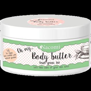 Nacomi_masło do ciała nawilżające o zapachu zielonej herbaty, 100 ml