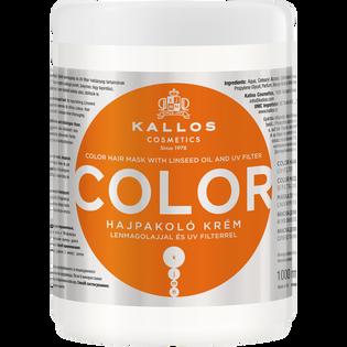Kallos_Color_maska do włosów do włosów farbowanych, 1000 ml