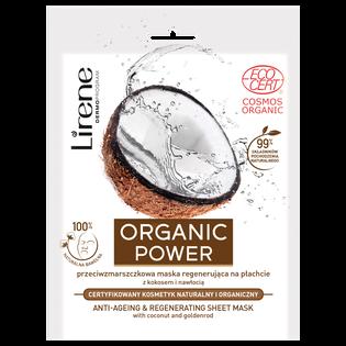 Lirene_Organic Power_przeciwzmarszczkowa maska do twarzy, 32 g