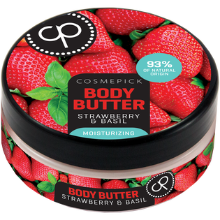 Cosmepick_Strawberry&Basil_nawilżające masło do ciała z truskawką i bazylią, 200 ml_2