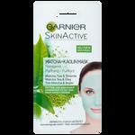 Garnier Skin Active Herbata Matcha i biała glinka