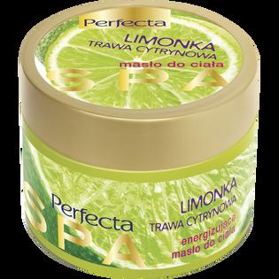Perfecta_Limonka i trawa cytrynowa_energizujące masło do ciała, 225 ml