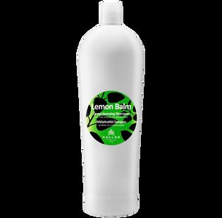 Kallos_Lemon Balm_głęboko oczyszczający szampon do włosów, 1000 ml