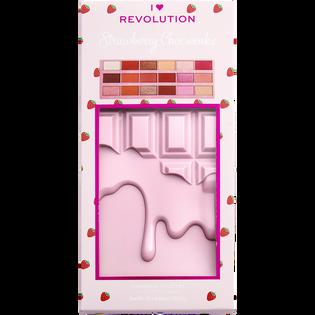 Revolution Makeup_by Wersow_zestaw: paleta cieni do powiek, 1 szt. + paleta rozświetlaczy, 1 szt., róż, 1 szt. + pomadka w płynie do ust nude, 1 szt. + baza rozświetlająca, 1 szt._3