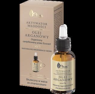 Ava_Aktywator Młodości_olej arganowy 100% naturalnej regeneracji skóry, 30 ml