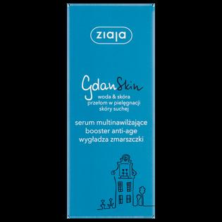 Ziaja_GdanSkin_serum do twarzy multinawilżający booster anti-age wygładzający zmarszczki, 50 ml