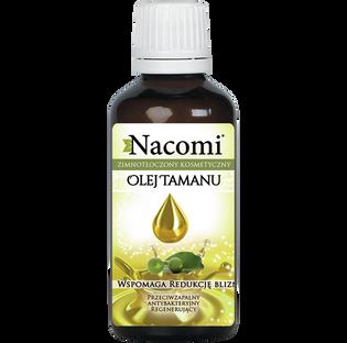 Nacomi_olej tamanu do twarzy, ciała i włosów dla skóry suchej, mieszanej, tłustej i trądzikowej, 50 ml