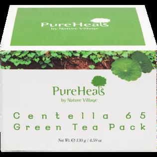 Pureheals_Centella 65_wygładzająca maska do twarzy z zieloną herbatą i wąkrotą azjatycką, 130 g_2