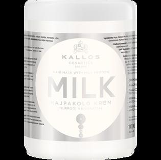 Kallos_Milk_odżywcza maska do włosów, 1000 ml