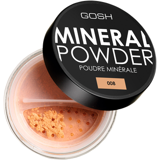 Gosh_Mineral Powder_puder sypki do twarzy, 8 g