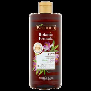 Bielenda_Botanic Formula_płyn micelarny konopie + szafran, 500 ml