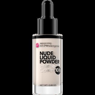 Bell HypoAllergenic_Nude Liquid Powder_pudrowy podkład matujący w płynie do twarzy 01, 25 g_1