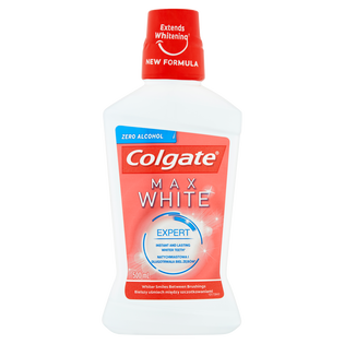 Colgate_Max White_płyn do płukania jamy ustnej, 500 ml