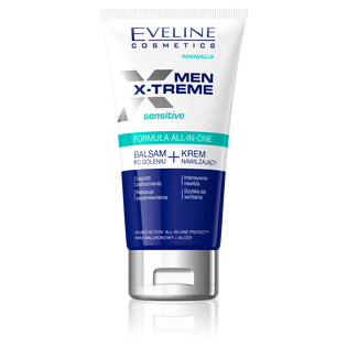 Eveline_Men X-Treme_balsam po goleniu i krem nawilżający, 150 ml