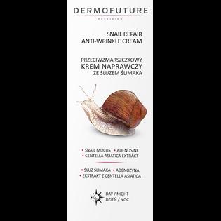 Dermofuture_Snail Repair_przeciwzmarszczowy krem naprawczy ze śluzem ślimaka na dzień i noc, 30 ml_2