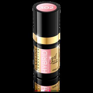 Eveline_Hybrid Professional_lakier hybrydowy do paznokci pink shimmer 302, 5 ml