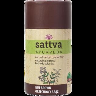 Sattva_Ayurveda_naturalna ziołowa farba do włosów, 150 g