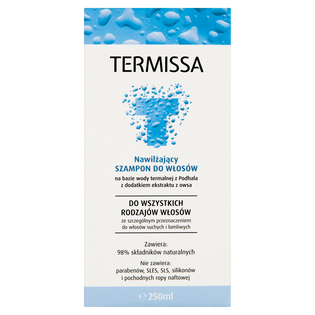 Termissa_nawilżający szampon do włosów, 250 ml_2