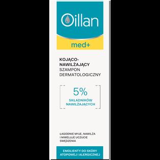 Oillan_Med+_szampon dermatologiczny do włosów kojąco-nawilżający, 150 ml