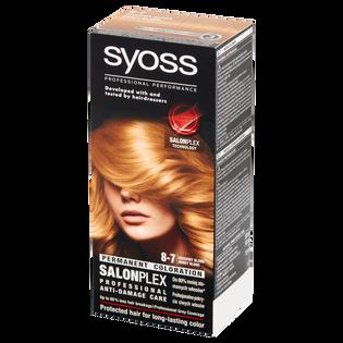 Syoss_Salon Plex_farba do włosów miodowy blond 8-7, 1 opak.