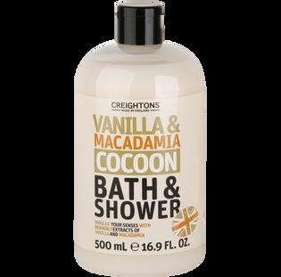 Creightons_Vanilla & Macadamia Cocoon_żel do kąpieli i pod prysznic, 500 ml