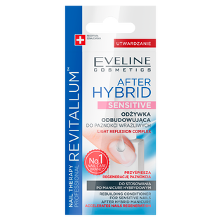 Eveline Cosmetics_Nail Therapy Professional Revitallum After Hybrid Sensitive_odbudowująca odżywka do paznokci, 12 ml_2