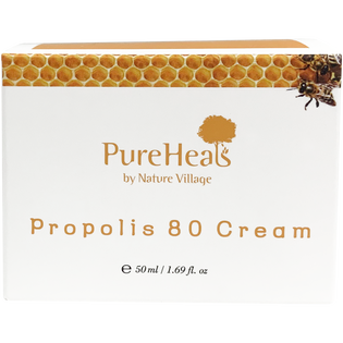 Pureheals_Propolis 80_nawilżająco-łagodzący krem do twarzy z propolisem 80%, 50 ml_2