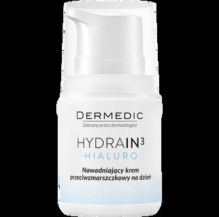 Dermedic_Hydrain3_krem do twarzy nawadniający na dzień, 55 g