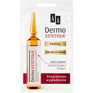 AA_Dermo Estetique_peeling i serum do twarzy, 10 ml