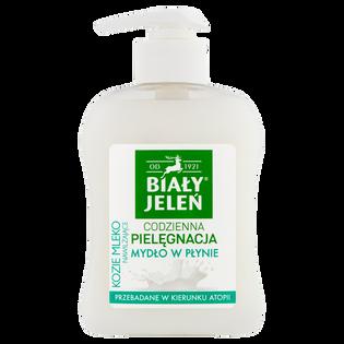 Biały Jeleń_kozie mleko_nawilżające mydło w płynie, 300 ml