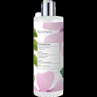 Vis Plantis_szampon do włosów suchych i matowych z lukrecją, lipą i prawoślazem, 400 ml
