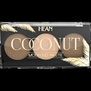 Hean_Coconut_paleta w kamieniu do modelowania twarzy, 10,5 g