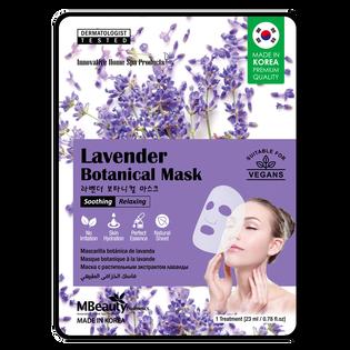 Mbeauty_lawendowa kojąca i relaksująca maska na płachcie, 23 g