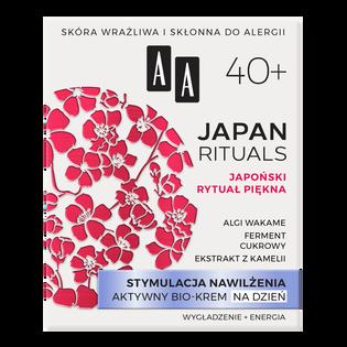 AA_Japan Rituals_aktywny bio-krem do twarzy na dzień 40+, 50 ml