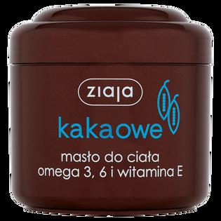 Ziaja_Masło Kakaowe_masło do ciała omega 3, 6 i witamina E, 200 ml