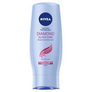 Nivea_Diamond Gloss Care_pielęgnująca odżywka do włosów, 200 ml