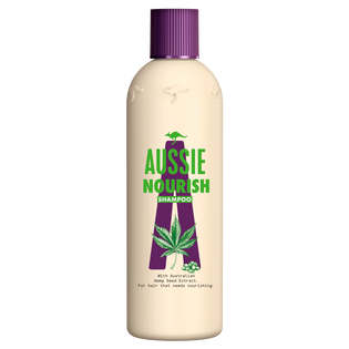 Aussie_Nourish_szampon do włosów z odżywczą formułą, 300 ml
