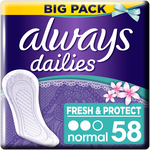Always Dailies Fresh & Protect Normal Fresh