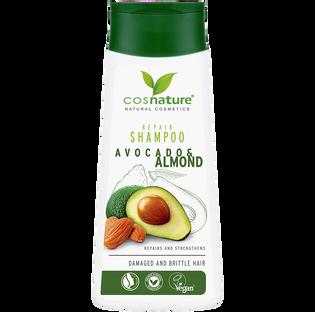 Cosnature_Awokado & Migdał_naturalny regenerujący szampon do włosów, 200 ml