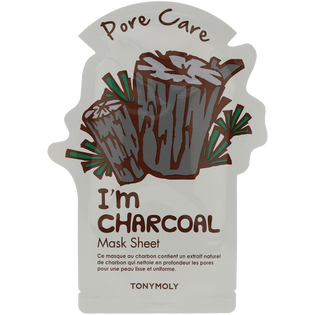 Tony Moly_I'm Real_maska węglowa z naturalnym ekstraktem z węgla, 21 g