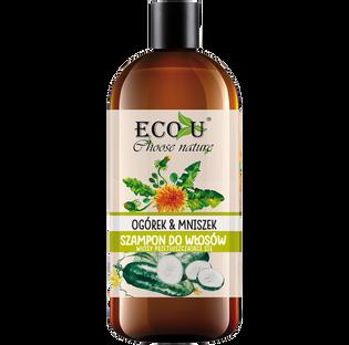 Ecou_Ogórek i mniszek_szampon do włosów, 500 ml