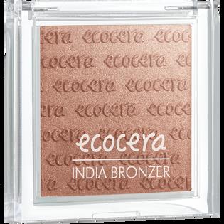Ecocera_India Bronzer_puder brązujący do twarzy India, 10 g_1