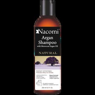 Nacomi_Argan_szampon do włosów z olejem arganowym o działaniu wzmacniającym, 250 ML