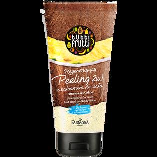 Tutti Frutti_Ananas&Kokos_peeling z balsamem do ciała, 200 ml
