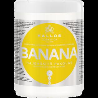 Kallos_Banana_wzmacniająca maska do włosów każdego rodzaju, 1000 ml