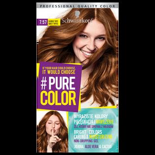 Schwarzkopf_Pure Color_farba do włosów 7.57 słodkie toffee, 1 opak.